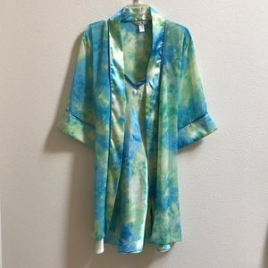 JCPennys Delicates Robe and Nightgown